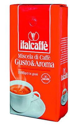 Кофе в зернах Italcaffe Gusto&amp;Aroma 1 кгКофе, какао<br>Кофе Italcaffe Gusto&amp;Aroma с терпким, но мягким вкусом и исключительно ярким ароматом.<br><br>Эта смесь кофе идеально подходит для бариста.<br><br>Высококачественный кофе ItalCaffe итальянской обжарки с лучших кофейных плантаций Бразилии, Колумбии, Коста-Рики, Гватемалы, Гондураса, Камеруна, Кот д`Ивуара и некоторых других стран.<br><br>Идеально подходит для приготовления настоящего итальянского эспрессо в кофемашине, кофеварке или гейзере.<br><br>Тип: кофе в зернах<br>Дополнительно: состав: 70% арабики, 30% робуста. Зерна в вакуумной упаковке с односторонним клапаном
