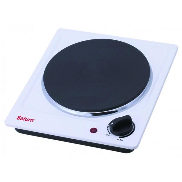 Кухонная плита Saturn ST-ЕС 0190Кухонные плиты<br><br><br>Тип варочной панели: электрическая<br>Тип духовки: нет<br>Ширина, см: 23.5<br>Число электрических конфорок: 1<br>Гриль: нет<br>Максимальная потребляемая мощность, Вт: 1500<br>Высота, см: 7.5<br>Глубина, см: 26.5