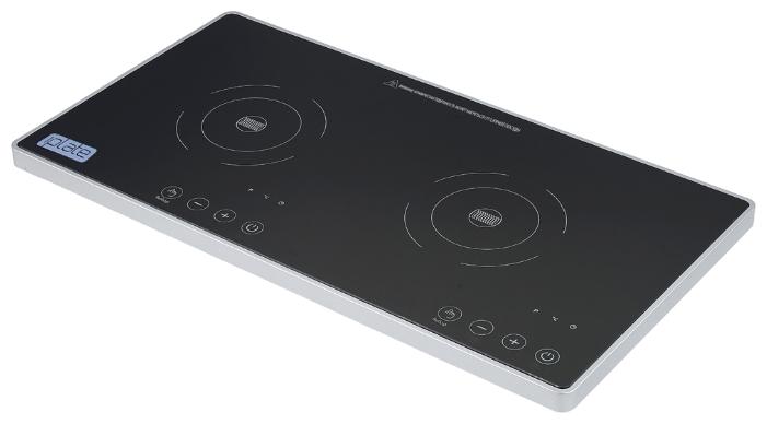 Кухонная плита Iplate YZ-QSКухонные плиты<br><br><br>Тип варочной панели: электрическая<br>Тип духовки: нет<br>Ширина, см: 59<br>Рабочая поверхность : стеклокерамика<br>Число индукционных конфорок: 2<br>Гриль: нет<br>Высота, см: 5<br>Глубина, см: 31