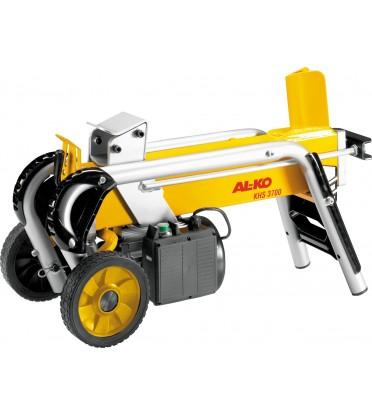 Дровокол AL-KO KHS 3700Дровоколы<br>Дровокол AL-KO KHS 3700 предназначен для заготовки дров для каминов в загородном доме или на даче. Горизонтальный дровокол оснащен электрическим двигателем &amp;#40;1.8 кВт&amp;#41;, который работает без вредных выхлопов, что делает возможным использование колуна в закрытом помещении. Работает при напряжении сети 220 В. Электрический двигатель расположен под рабочей частью дровокола, что защищает механизм от повреждений.<br><br>Тип: дровокол<br>Мощность двигателя, Вт: 1800<br>Рабочее давление, тонн: 4<br>Максимальная длина бревна, см: 37