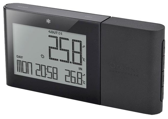 Термометр Oregon Scientific RMR262 BlackПогодные станции<br><br><br>Тип: термометр<br>Измерение температуры: на улице