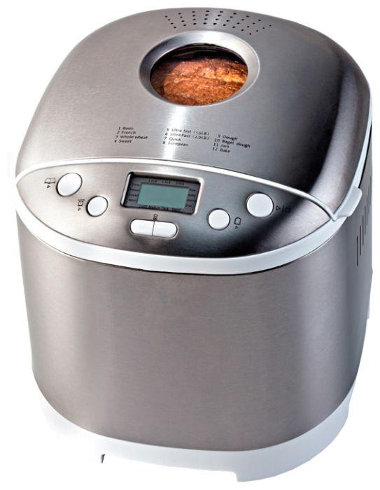 Хлебопечь Ariete 131Хлебопечки<br><br><br>Тип: Хлебопечь<br>Максимальный вес выпечки, г: 900<br>Мощность, Вт: 650<br>Регулировка веса выпечки: Есть<br>Выбор цвета корочки: Есть<br>Таймер: Есть<br>Поддержание температуры: Есть