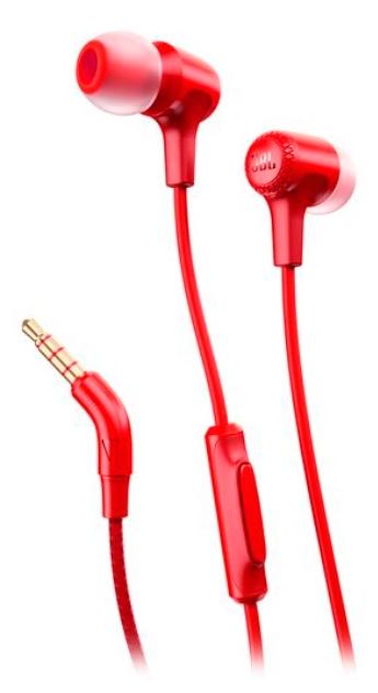 Наушники JBL E15 RedНаушники и гарнитуры<br><br><br>Тип: наушники<br>Вид наушников: Вставные<br>Тип подключения: Проводные<br>Диапазон воспроизводимых частот, Гц: 20 - 20000<br>Сопротивление, Импеданс: 16 Ом<br>Микрофон: есть