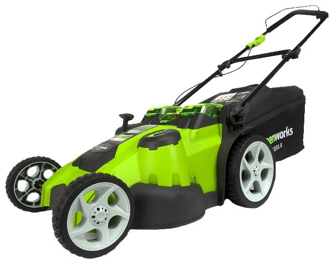 Газонокосилка GreenWorks 2500207 G-MAX 40V 49 cm 3-in-1 (G40LM49DB)Газонокосилки и триммеры<br><br>