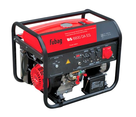 Электрогенератор FUBAG BS 6600 DA ES