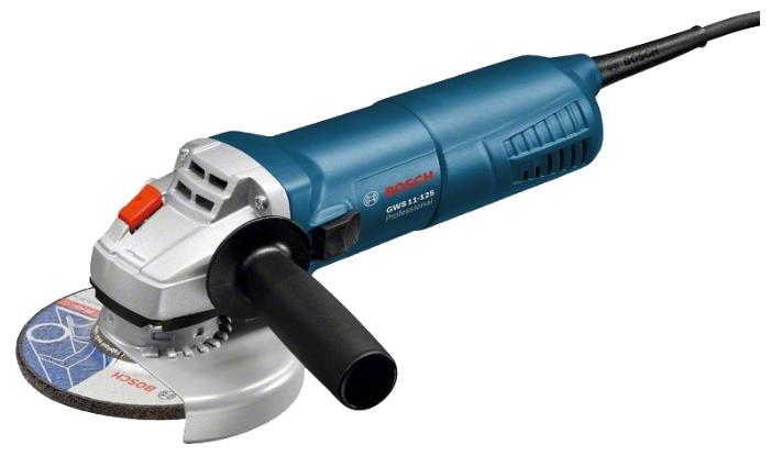Угловая шлифмашина Bosch GWS 11-125 [06017920R0]Шлифовальные и заточные машины<br><br>