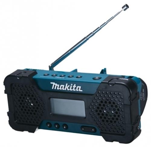 Радиоприемник Makita MR 051Радиобудильники, приёмники и часы<br><br><br>Тип: Радиоприемник<br>Тип тюнера: Аналоговый<br>Колличество динамиков  : 2<br>Часы: Нет<br>Встроенный будильник  : Нет