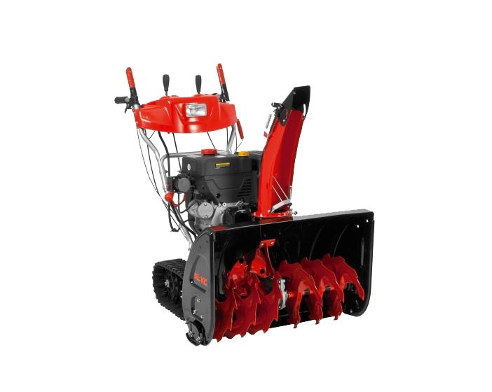 Снегоуборщик AL-KO SnowLine 760TEСнегоуборщики<br><br><br>Тип: снегоуборочная машина<br>Тип системы очистки: двухступенчатая<br>Ширина захвата, см: 76<br>Высота захвата, см: 54.5<br>Дальность выброса снега, м: 15<br>Материал шнека: металл<br>Форма шнеков: рельефная (зубчатая)<br>Материал желоба выброса снега: металл<br>Регулировка положения желоба выброса снега: механическая, с панели управления<br>Мощность двигателя: 9 кВт
