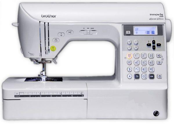 Швейная машина Brother NV350Швейные машины<br>Электронная швейная машина Brother NV 350 с горизонтальным челноком ротационного типа является самым оптимальным ответом на вопрос, какую именно швейную машину следует приобрести для домашнего творчества в области высокого швейного искусства, не связанного пошивом одежды от кутюр. Разумеется, в данном случае речь идет о квилтинге или патчворке, а если говорить по-русски, то о лоскутной технике шитья. Любимая нашими бабушками и прабабушками лоскутная техника, сегодня снова востребована, но из обычного увлечения прошлых лет, когда наши бабушки и...<br>
