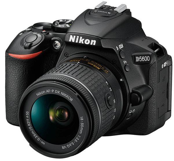 Зеркальный фотоаппарат Nikon D5600 + AF-S 18-140 VRЦифровые зеркальные фотоаппараты<br><br><br>Тип: Цифровая зеркальная фотокамера<br>Число эффективных пикселов, Mp: 24,2<br>Чувствительность: 100–25 600 единиц<br>Процессор: EXPEED 4