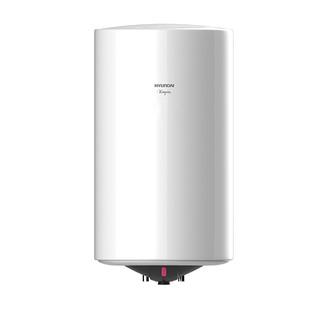 Водонагреватель Hyundai H-SWE1-50V-UI066Водонагреватели<br>Электрический водонагреватель накопительного типа H-SWE1-50V-UI066 от компании Hyundai&amp;nbsp;&amp;nbsp;оснащен вместительным резервуаром для воды. Благодаря увеличенной теплоизоляции теплопотери сведены к минимуму, а это значит, что вода в емкости будет дольше оставаться горячей. Стоит также отметить, что представленный накопительный водонагреватель имеет встроенную систему безопасности, что обеспечивает продолжительную службу прибора.<br><br>Основные преимущества представленного накопительного цилиндрического эмалированного водонагревателя серии Niagara:<br>- Эмалированное...<br><br>Тип водонагревателя: накопительный<br>Способ нагрева: электрический<br>Объем емкости для воды, л.: 50<br>Максимальная температура нагрева воды (°С): +75<br>Номинальная мощность(кВт): 1.5