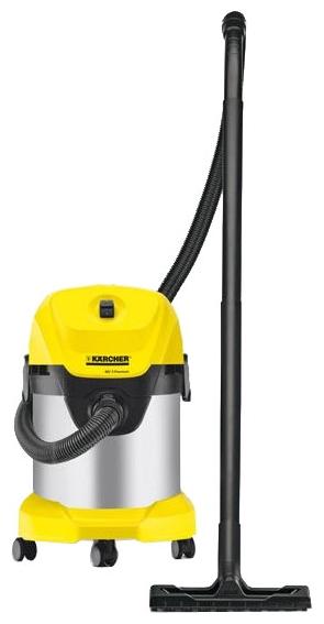 Пылесос Karcher WD 3 PremiumПылесосы<br><br><br>Тип: Пылесос<br>Потребляемая мощность, Вт: 1400<br>Тип уборки: Сухая<br>Регулятор мощности на корпусе: Нет<br>Пылесборник: Мешок/циклонный фильтр<br>Емкостью пылесборника : 17 л