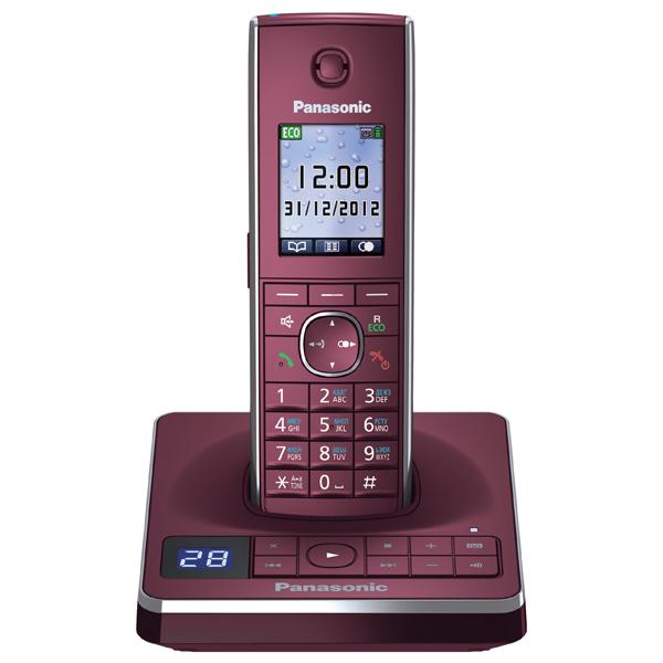 Радиотелефон Panasonic KX-TG8561RURРадиотелефон Dect<br><br><br>Тип: Радиотелефон<br>Количество трубок: 1<br>Рабочая частота: 1880-1900 МГц<br>Стандарт: DECT/GAP<br>Радиус действия в помещении / на открытой местност: 50/300<br>Время работы трубки (режим разг. / режим ожид.): до 12 часов/до 250 часов<br>Полифонические мелодии: 40<br>Дисплей: цветной с подсветкой<br>Подсветка кнопок на трубке: Есть<br>Журнал номеров: 50