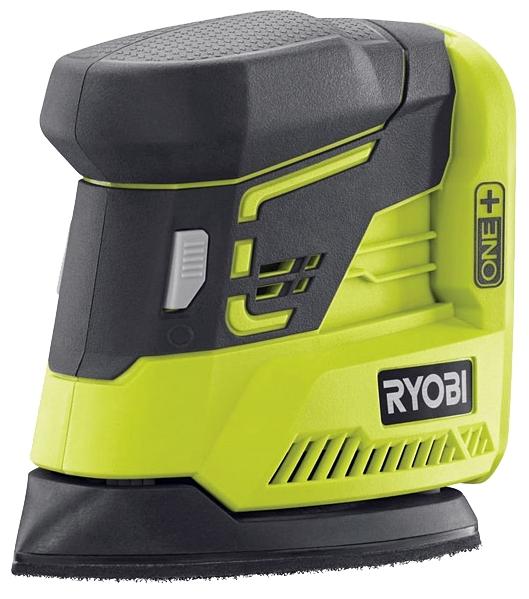 Шлифовальная машина Ryobi ONE+ R18PS-0 (116506)Шлифовальные и заточные машины<br>Дельта шлифмашина Ryobi ONE&amp;#43; R18PS-0 совершает до 22000 оборотов в минуту с амплитудой 1.8 мм. Инструмент используется для зачистки небольших и средних поверхностей из пластика, дерева, металла. Модель отличается от сетевых аналогов небольшими габаритами и независимостью от наличия на рабочей площадке электропитания. Без батареи вес шлифмашины составляет 900 грамм.<br><br>Система Ryobi One&amp;#43; позволяет использовать всего один блок питания для целого арсенала аккумуляторного инструмента. Интеллектуальная система обеспечивает полный заряд каждой ячейки аккумулятора...<br><br>Размер хода платформы, мм: 1.8