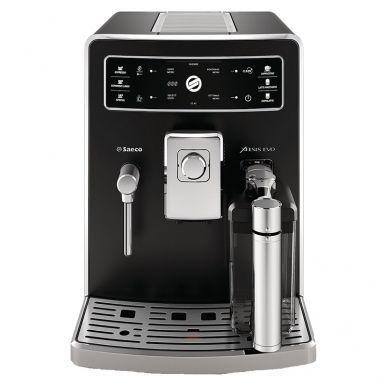 Кофемашина Saeco HD8953/09 Xelsis Evo Full BlackКофеварки и кофемашины<br>Saeco HD8953/09 Xelsis Evo Full Black оснащена мультимедийным интерфейсом. Ценой дисплея с сенсорным управлением вы приготовите необходимый напиток одним нажатием на кнопку. Эспрессо, лунго, капучино, макиято, лате – иконки с такими названиями помогут определиться с выбором. Регулирование крепости кофе, объема воды на порцию – вся информация о выполняемых действиях будет отображаться на экране.<br><br>- Настройка профилей для 6 пользователей<br>Кофемашина Saeco Xelsis Evo Philips HD8953 &amp;#40;HD8953/09&amp;#41; - идеальное решение для использования прибора несколькими пользователями. Вы сможете...<br><br>Мощность, Вт: 1500<br>Объем, л: 1.6<br>Давление помпы, бар  : 15<br>Емкость контейнера для зерен, г  : 350<br>Одновременное приготовление двух чашек  : Есть