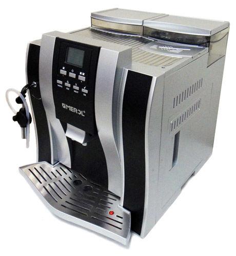 Кофемашина Merol ME-709 OFFICE SilverКофеварки и кофемашины<br>Merol ME-709 OFFICE Silver — вкусное украшение для дома и офиса.<br>Вы обожаете пить кофе, но не слишком любите его готовить? Понимаем вас, ведь не всегда есть время, чтобы утром  дома или, тем более, днем на работе сварить чашечку ароматного эспрессо. Теперь этот вопрос решен, поручите задачу по готовке вашего любимого кофе кофемашине Merol ME-709 OFFICE Silver!<br>Всего несколько минут и напиток готов! Эспрессо, капучино, мокка, латте — все, что вы так любите, и в превосходном качестве. Полностью русифицированное электронное меню, регулировка степени помола, а также температуры...<br><br>Тип : зерновая кофемашина<br>Тип используемого кофе: Зерновой<br>Мощность, Вт: 1250<br>Объем, л: 2<br>Давление помпы, бар  : 19<br>Материал корпуса  : Пластик<br>Встроенная кофемолка: Есть<br>Емкость контейнера для зерен, г  : 200<br>Одновременное приготовление двух чашек  : Есть<br>Подогрев чашек  : Есть