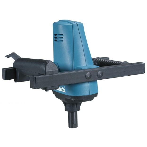 Строительный миксер Makita UT1200Дрели, шуруповерты, гайковерты<br>Мешалка Makita UT 1200:<br><br>- Makita UT1200 - это профессиональный миксер для перемешивания до 30 кг вязких материалов<br>- Система плавного пуска защищает пользователя от брызг, а инструмент - от перегрузки<br>- Оборудованный мощным мотором 960 Вт, миксер Makita UT1200 имеет механизм электронного регулирования количества оборотов<br>- Это один из бюджетных лопастных смесителей компании Makita, но несмотря на это, он показывает очень хорошие результаты<br>- Электронная система регулировки и стабилизации количества оборотов<br>- Можно использовать насадки диаметром до 120 мм<br><br>Тип: строительный миксер<br>Питание: от сети