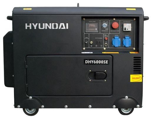 Электрогенератор Hyundai DHY-6000 SE