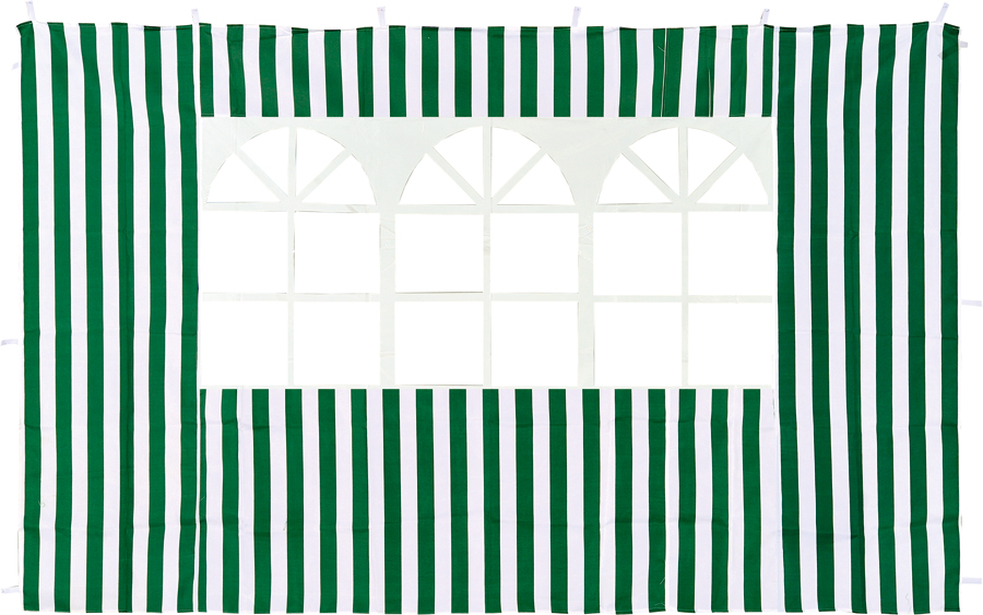 Стенка  Green Glade 4110Садовые тенты и шатры<br><br><br>Тип: Стенка<br>Покрытие: полиэстер 140г, крепление - липучка<br>Размеры упаковки: 43х32х50 см