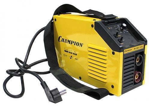 Сварочный аппарат Champion IW-160/7,1 ATLСварочные аппараты<br><br><br>Тип: сварочный инвертор<br>Сварочный ток (MMA): 10-160 А<br>Напряжение на входе: 160-260 В<br>Количество фаз питания: 1<br>Тип выходного тока: постоянный<br>Мощность, кВт: 7.10<br>Продолжительность включения при максимальном токе: 60 %<br>Диаметр электрода: 1.60-4 мм<br>Антиприлипание: есть<br>Горячий старт: есть