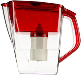 Кувшин Барьер Гранд NEO рубинФильтры и умягчители для воды<br>Кувшин изготовлен из высококачественного пластика BASF, допущенного для контакта с питьевой водой и укомплектован воронкой, уникальная конструкциия которой препятствует попаданию неочищенной воды и пыли в отфильтрованную воду.<br><br>Тип: фильтр-кувшин<br>Тип фильтра: кувшин<br>Подключение к водопроводу: нет<br>Фильтрующий модуль в комплекте: есть<br>Ресурс стандартного фильтрующего модуля: 350 л<br>Помпа для повышения давления: нет