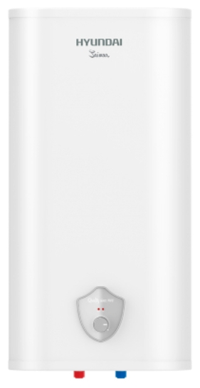 Водонагреватель Hyundai H-SWS7-100V-UI413Водонагреватели<br><br><br>Тип водонагревателя: накопительный<br>Способ нагрева: электрический<br>Объем емкости для воды, л.: 100<br>Максимальная температура нагрева воды (°С): +75<br>Номинальная мощность(кВт): 2<br>Управление: механическое