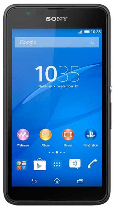 Мобильный телефон Sony Xperia E4g E2003 BlackМобильные телефоны<br><br>