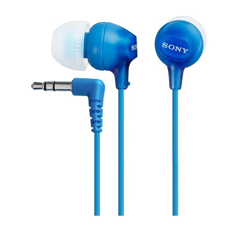 Наушники Sony MDR-EX15LP/L BlueНаушники и гарнитуры<br>Sony MDR-EX15LP/L Blue только для ярких и творческих.<br>Что купить наушники такого яркого синего цвета, нужно быть очень творческой и интересной личностью. Вы как раз из таких? Тогда скорее покупайте наушники Sony MDR-EX15LP/L Blue, ведь эта модель раскупается просто мгновенно!<br>Конечно, дело не только в необычном цвете наушников. Причина такой популярности еще и в отменных звуковых характеристиках. Большой частотный диапазон — 8-22000 Гц, оптимальный диаметр мембраны — 9 мм, хорошая чувствительность — 100 дБ. Всё, как и должно быть у хорошо звучащих наушников. Теперь ...<br><br>Тип: наушники<br>Тип акустического оформления: Закрытые<br>Вид наушников: Вкладыши<br>Тип подключения: Проводные<br>Номинальная мощность мВт: 100<br>Диапазон воспроизводимых частот, Гц: 8 - 22000<br>Сопротивление, Импеданс: 16<br>Чувствительность дБ: 100