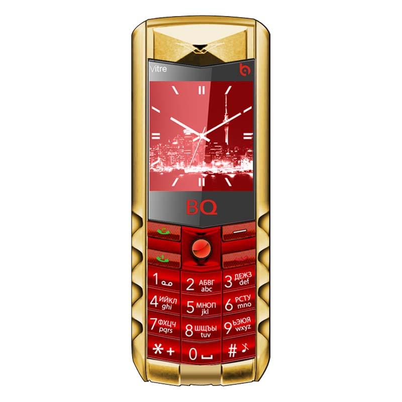 Мобильный телефон BQ BQM-1406 Vitre Gold Edition RedМобильные телефоны<br><br>