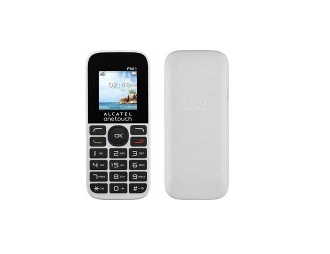 Мобильный телефон Alcatel 1016D Black/Pure WhiteМобильные телефоны<br><br>