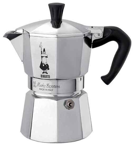 Кофеварка Bialetti Moka express 3 п. 1162Кофеварки и кофемашины<br><br>