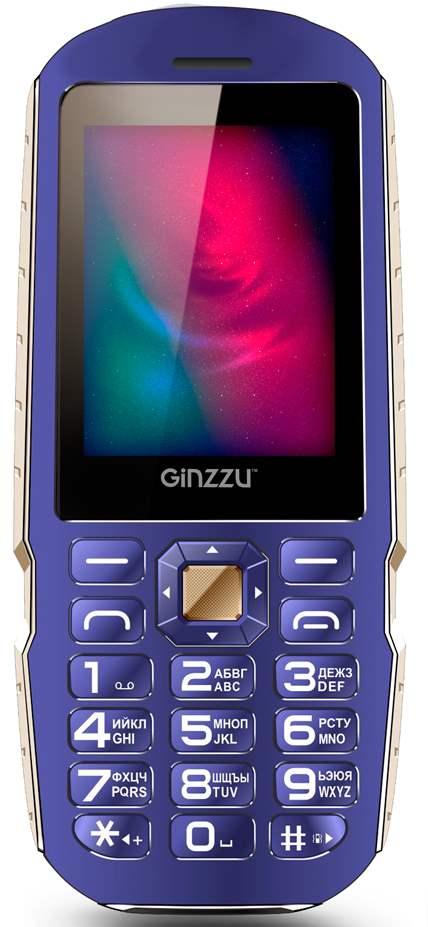 Мобильный телефон Ginzzu R1D BlueМобильные телефоны<br><br><br>Тип: Мобильный телефон<br>Стандарт: GSM 900/1800/1900<br>Тип трубки: классический<br>Фотокамера: 1.30 млн пикс.<br>Форматы проигрывателя: MP3