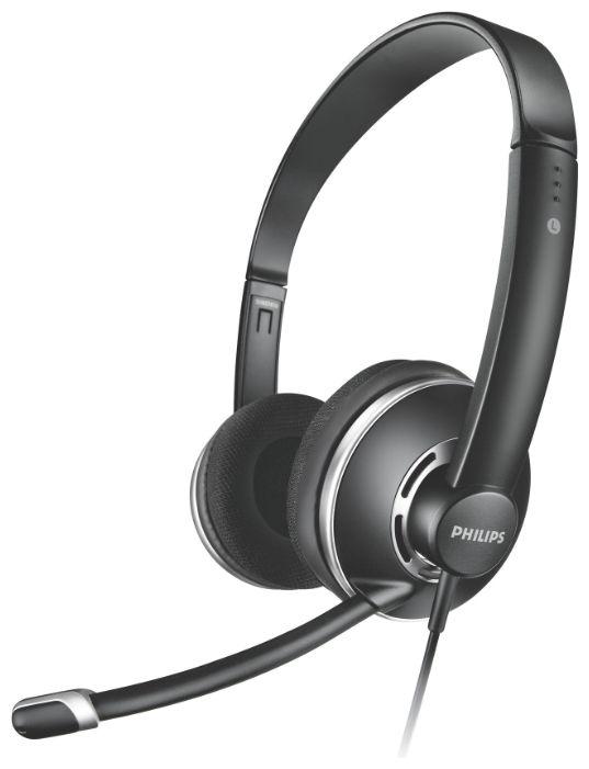 Гарнитура Philips PC Headset SHM7410U/10Наушники и гарнитуры<br><br><br>Тип: гарнитура<br>Тип акустического оформления: Полуоткрытые<br>Вид наушников: Накладные<br>Тип подключения: Проводные<br>Номинальная мощность мВт: 100<br>Диапазон воспроизводимых частот, Гц: 20 - 20000<br>Сопротивление, Импеданс: 32 Ом<br>Чувствительность дБ: 100<br>Микрофон: есть<br>Крепление микрофона: подвижное