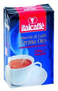 Кофе молотый Italcaffe Crema Oro 0,25 кгКофе, какао<br>Crema ORO - смесь многих сортов кофе арабики и разновидностей робусты, подобранных и обжаренных таким образом, чтобы получить невероятно густой сливочный напиток с характерным сладким, богатым и полным ароматом.<br><br>Тип: кофе молотый<br>Дополнительно: вакуумная упаковка из трехслойного полимерного материала.