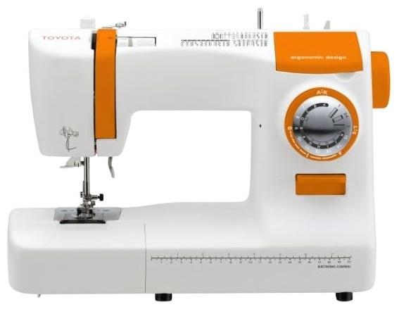 Швейная машина Toyota ECO34BШвейные машины<br>Новая электромеханическая машина Toyota ECO 34 B окажется для вас лучшим другом в освоении просторов швейного искусства! Ведь в этой машине собраны именно те функции, которые необходимы швеям любого уровня мастерства. С помощью швейной машины Toyota ECO 34 B станет легко не только подшить штаны или пришить брючную молнию, но также заниматься вышивкой, заранее приобретя специальную лапку для вышивки и штопки.<br><br>Toyota ECO 34 B имеет в своем арсенале 34 швейных операций: прямая строчка, расположенная слева, прямая строчка, расположенная по центру, сточка зигзаг, точечный...<br><br>Тип: электромеханическая<br>Тип челнока: ротационный горизонтальный<br>Вышивальный блок: нет<br>Количество швейных операций: 34<br>Выполнение петли: полуавтомат<br>Потайная строчка : есть<br>Эластичная строчка : есть<br>Эластичная потайная строчка: есть<br>Кнопка реверса: есть<br>Система измерения размера пуговиц: есть