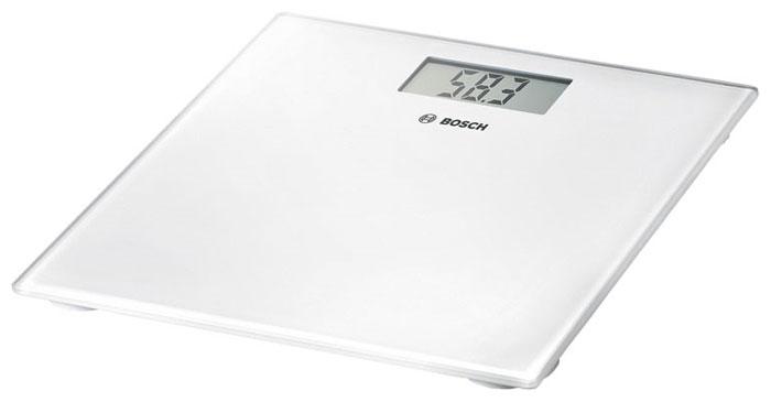 Весы Bosch PPW 3300Весы<br><br><br>Тип: напольные весы<br>Тип весов: электронные<br>Предел взвешивания, кг: 180<br>Точность измерения, г: 0.1