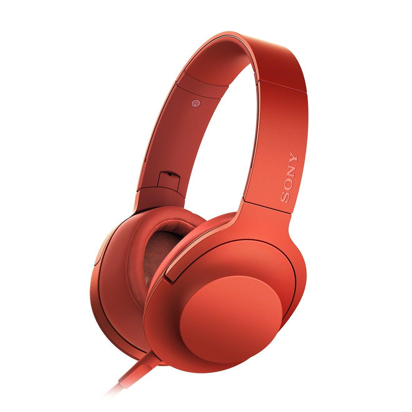 Гарнитура Sony MDR-100AAP RedНаушники и гарнитуры<br><br><br>Тип: гарнитура<br>Тип подключения: Проводные<br>Номинальная мощность мВт: 103<br>Диапазон воспроизводимых частот, Гц: 5–60 000<br>Сопротивление, Импеданс: 24 ом<br>Чувствительность дБ: 103<br>Микрофон: есть