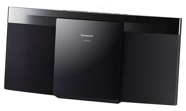 Микросистема Panasonic SC-HC19EE-K BlackМинисистемы и магнитолы<br><br><br>Тип: Микросистема<br>Основной блок: Одноблочная<br>Комплект акустических систем: 2.0<br>Полная выходная мощность (RMS): 20<br>FM-приемник: Есть<br>Поддерживаемые форматы: MP3<br>Поддерживаемые носители: CD, CD-R, CD-RW