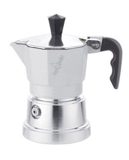 Кофеварка Top Moka Caffettiera Top 6 п. argento WhiteКофеварки и кофемашины<br><br><br>Тип : гейзерная кофеварка<br>Тип используемого кофе: Молотый<br>Объем, л: 0,24