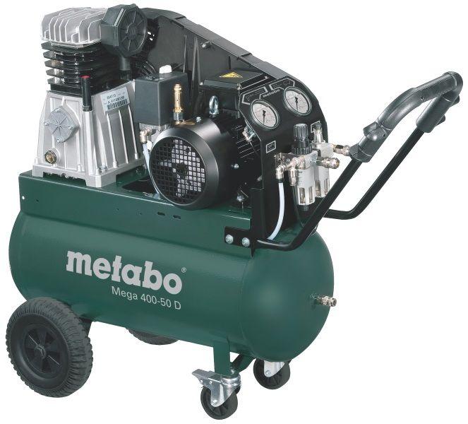Компрессор Metabo Mega 400-50 D [601537000]
