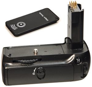 Батарейная ручка Dicom NIKD90 (MB-D80) + пультБатарейные рукоятки<br><br>
