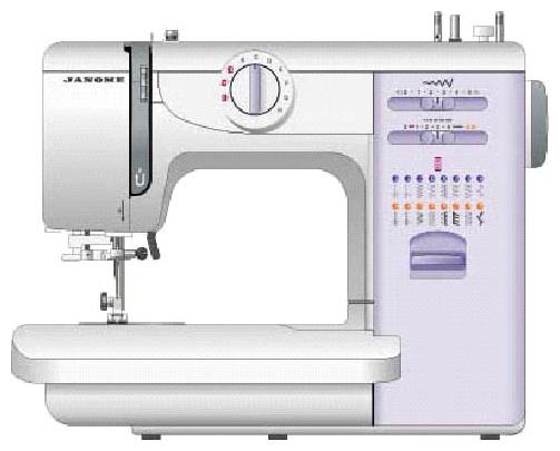 Швейная машина Janome 419S / 5519Швейные машины<br>Швейная машина Janome 5519 / 419s единит в себе многообразие весомых преимуществ, о которых пойдёт речь ниже. Японская модель является крайне лёгкой в эксплуатации и многофункциональной, поэтому в действительности окажется незаменимой для профессионалов и новичков, желающих научиться всем тонкостям швейного дела.<br><br>Электромеханическая швейная машина Janome 419s оснащена автоматическим нитевдевателем, съёмным «свободным рукавом», автоматической петлёй, пластиковым корпусом с практичной линейной, а также подсветкой рабочей поверхности, чью роль ис...<br><br>Тип: электромеханическая<br>Количество швейных операций: 19<br>Выполнение петли: автомат<br>Максимальная длина стежка: 4.0 мм<br>Максимальная ширина стежка: 5.0 мм<br>Потайная строчка : есть<br>Эластичная строчка : есть<br>Эластичная потайная строчка: есть<br>Кнопка реверса: есть<br>Регулировка давления лапки на ткань: есть