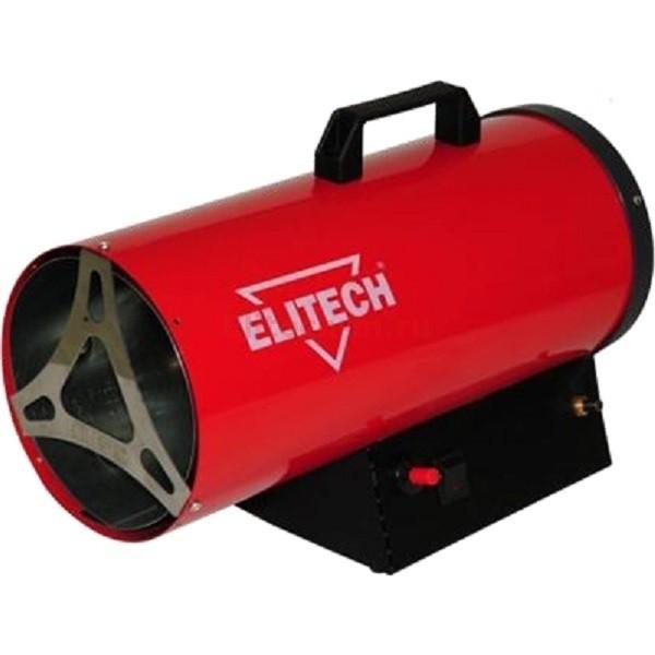 Тепловая пушка Elitech ТП 10ГБТепловые пушки и завесы<br>Газовая тепловая пушка Elitech ТП 10ГБ - это экономичное средство для прогрева воздуха в помещении небольшой площади &amp;#40;склад, гараж, торговый зал, автосервис, рабочий цех&amp;#41;. Для надёжности и безопасности использования в пушке предусмотрен клапан безопасного поджига, а также контроль горения пламени, что обеспечивает отключение подачи газа при отсутствии пламени. Высокую температуру горения обеспечивает поверхностная горелка и зеркало горелки из нержавеющей стали. Высокий КПД обеспечивается за счёт газового смесителя находящегося в зоне основного...<br><br>Тип: тепловая пушка газовая<br>Ручка для перемещения: есть<br>Напряжение: 220 В<br>Тип топлива: пропан/бутан<br>Максимальный расход топлива: 0.76 кг/ч<br>Потребляемая мощность: 32 Вт<br>Производительность: 330 м?/ч<br>Габариты: 440x290x186 мм<br>Вес: 5,5 кг