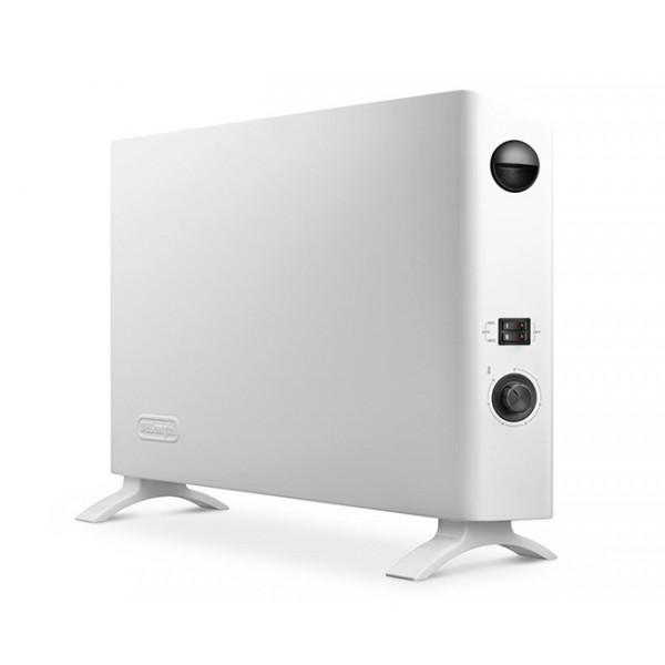 Конвектор Delonghi HSX 2320 FОбогреватели<br>Конвектор HSX2320F Slim Style с максимальной мощностью 2000 Вт&amp;nbsp;&amp;nbsp;отлично подходит для обогрева помещения 60м. Имеет 3 уровня мощности для максимального комфорта пользователя и тонкий дизайн &amp;#40;ширина всего 9 см&amp;#41;<br><br>- 3 уровня мощности для максимального комфорта пользователя<br>- Тонкий дизайн &amp;#40;ширина всего 9 см&amp;#41;<br>- Система бокового расположения вентиляторов &amp;#40;только для HSX 2320F&amp;#41; для наилучшего распределения горячего воздуха<br>- Термостат для установки и автоматического поддержания желаемой температуры<br>- Функция антизамерзания<br>- Удобная ручка для транспортировки...<br><br>Тип: конвектор<br>Максимальная мощность обогрева: 2000 Вт<br>Площадь обогрева, кв.м: 60<br>Отключение при перегреве: есть<br>Вентилятор : есть<br>Управление: механическое<br>Регулировка температуры: есть<br>Термостат: есть<br>Защита от мороза : есть<br>Ручка для перемещения: есть