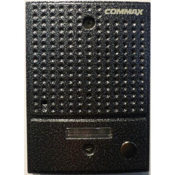 Панель вызова Commax DRC-4CGN2 PAL, ЧерныйДомофоны<br>Панель вызова COMMAX DRC-4CGN2 может быть использована со всеми цветными видеодомофонами COMMAX.<br>Новая цветная панель вызова Commax DRC-4CGN2 выполнена в антивандальном корпусе, имеет защищенную встроенную видеокамеру, может устанавливаться как на улице, так и в помещении. Камера в панели вызова спрятана, что делает ее вид более простым и не привлекает излишнего внимания. Угол обзора видеокамеры 47° по вертикали и 34° по горизонтали. Благодаря белой подсветке, которая автоматически срабатывает при недостаточном освещении, камера позволяет видеть посетителя...<br><br>Двухсторонняя аудиосвязь: есть<br>Камера: цветная видеокамера день-ночь NTSC/PAL<br>Угол обзора: угол обзора: 47°(по горизонтали) 34°(по вертикали)<br>Расстояние ИК подсветки: до 1 м<br>Реле управления замком: есть<br>Антивандальный металлический корпус: есть