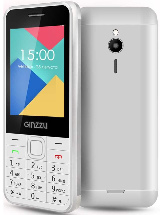 Мобильный телефон Ginzzu M108D WhiteМобильные телефоны<br><br><br>Тип: Мобильный телефон<br>Стандарт: GSM 900/1800/1900<br>Тип трубки: классический<br>Поддержка двух SIM-карт: есть<br>SMS: Есть<br>MMS: Есть<br>Фотокамера: 1.30 млн пикс.<br>Форматы проигрывателя: MP3