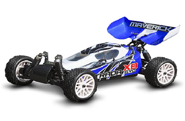 Багги Maverick Strada XB Evo 4WD 2.4Ghz