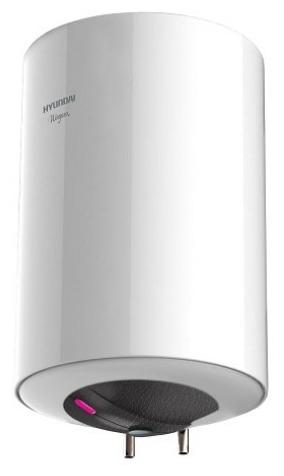 Водонагреватель Hyundai H-SWE1-30V-UI065Водонагреватели<br>Электрический накопительный водонагреватель Hyundai H-SWE1-30V-UI065 обладает изысканным дизайном. Стальной внешний корпус покрыт белоснежной матовой краской. Увеличенная теплоизоляция надолго сохраняет воду горячей внутри бака. Для защиты от коррозии предусмотрен магниевый анод. Агрегат отличается максимально простым и комфортным управлением. Режим ECO обеспечивает автоматический и максимально эффективный нагрева воды.<br> <br><br>- Эмалированное покрытие внутреннего резервуара.<br>- Стальной внешний корпус электрического накопительного водонагревателя ...<br><br>Тип водонагревателя: накопительный<br>Способ нагрева: электрический<br>Объем емкости для воды, л.: 30<br>Максимальная температура нагрева воды (°С): +75<br>Номинальная мощность(кВт): 1.5<br>Управление: механическое