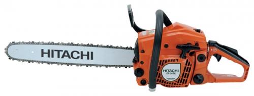 Бензопила Hitachi CS38EKПилы<br>Бензопила Hitachi CS38EK - мощный профессиональный инструмент для частого применения. Предназначен для распила средних по размеру деревьев и массивных ветвей. Прекрасно сбалансирован при высокой мощности и малом весе. Облегченный запуск за счет наличия декомпрессора.<br><br>Тип: бензопила<br>Конструкция: ручная<br>Мощность, Вт: 1900<br>Объем двигателя: 39 куб. см<br>Функции и возможности: тормоз цепи