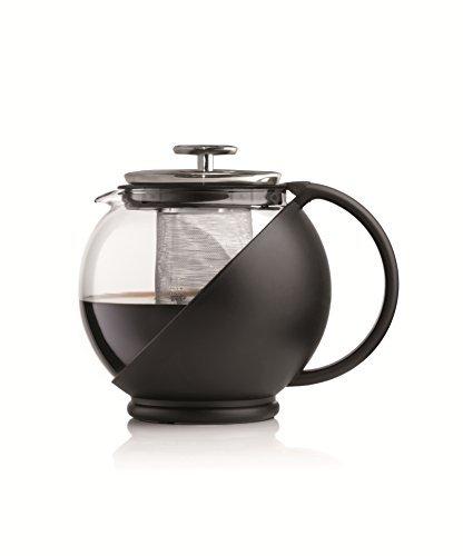 Чайник заварочный Bialetti TeaPress 3320Чайные/кофейные принадлежности<br><br><br>Цвет: черный